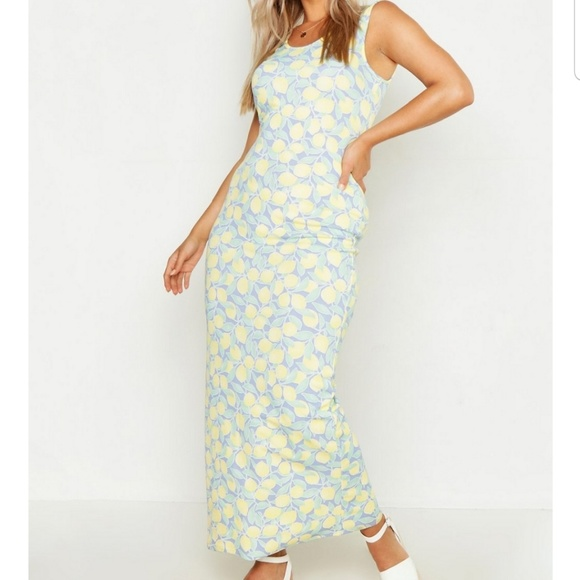 Dresses & Skirts - Lemon maxi dress